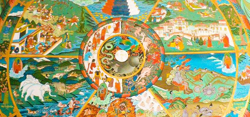Samsara: A Roda da Vida Ensina a Transcender Padrões e Evoluir