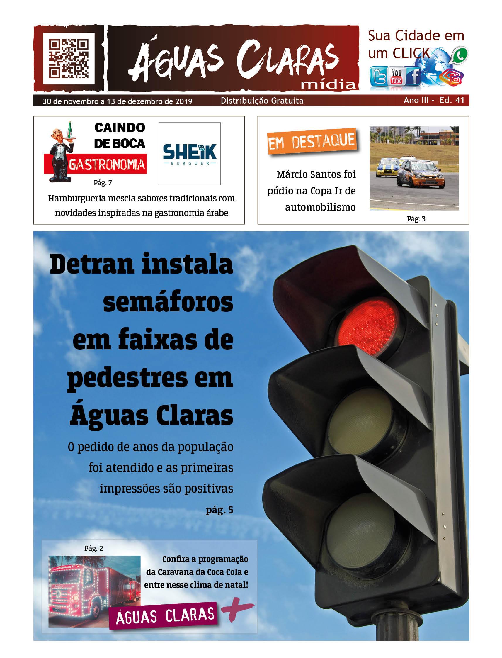 Jornal Águas Claras Mídia Edição 41