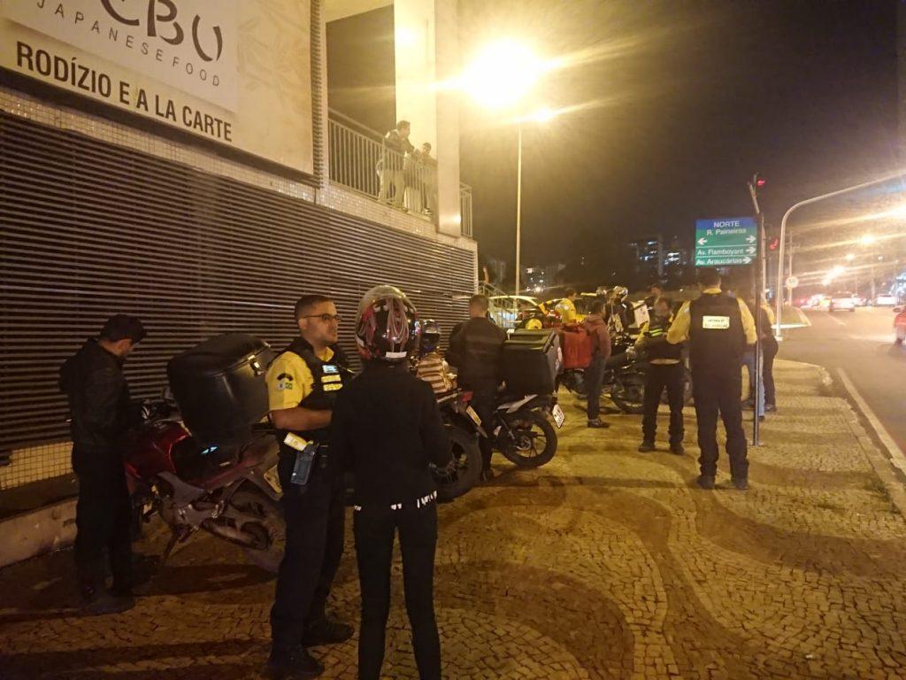 Detran DF realizou ação de fiscalização em Águas Claras