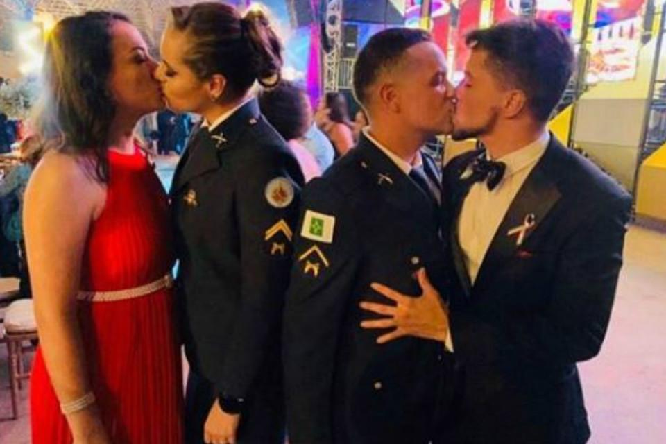 MP-DF investiga homofobia em comentários sobre beijo gay na formatura PMDF