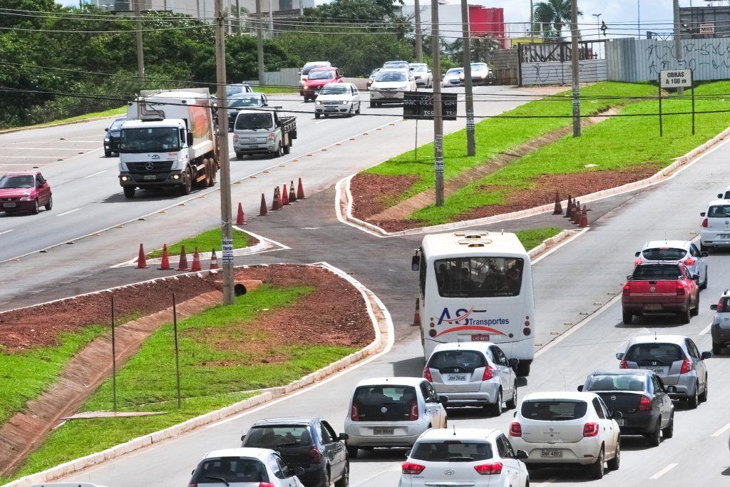 Mudança no Trânsito da EPTG no acesso a Taguatinga