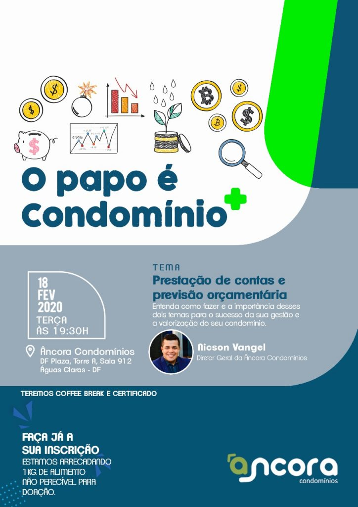Evento Papo de Condomínio do DF Plaza