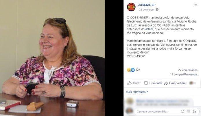 Secretária de Saúde confirma 1°morte por Covid-19 no DF, mulher de 61 anos