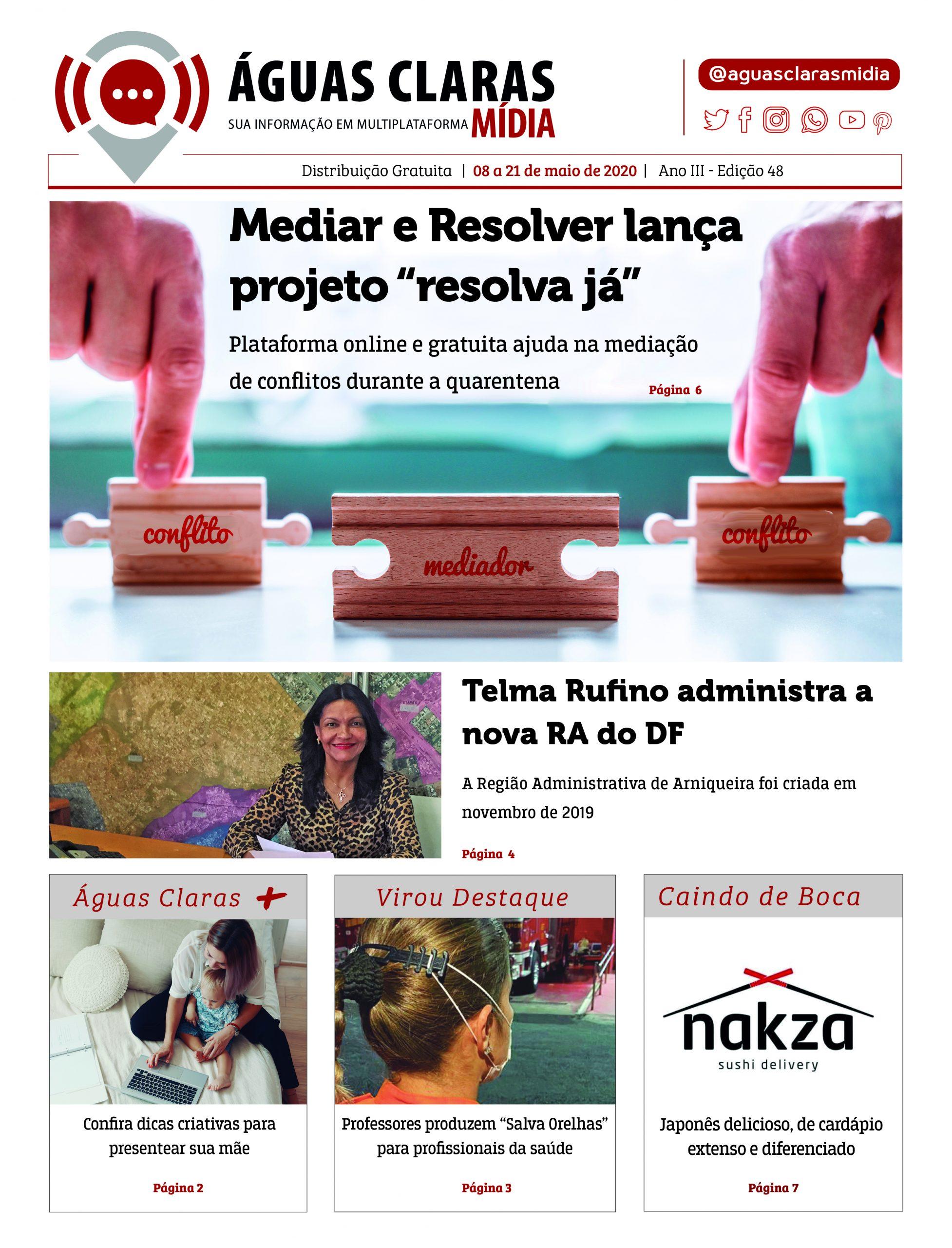 Jornal Águas Claras Mídia Edição 48