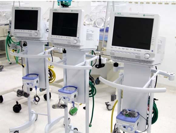 Parceria entre SENAI e GDF recupera respiradores da rede pública
