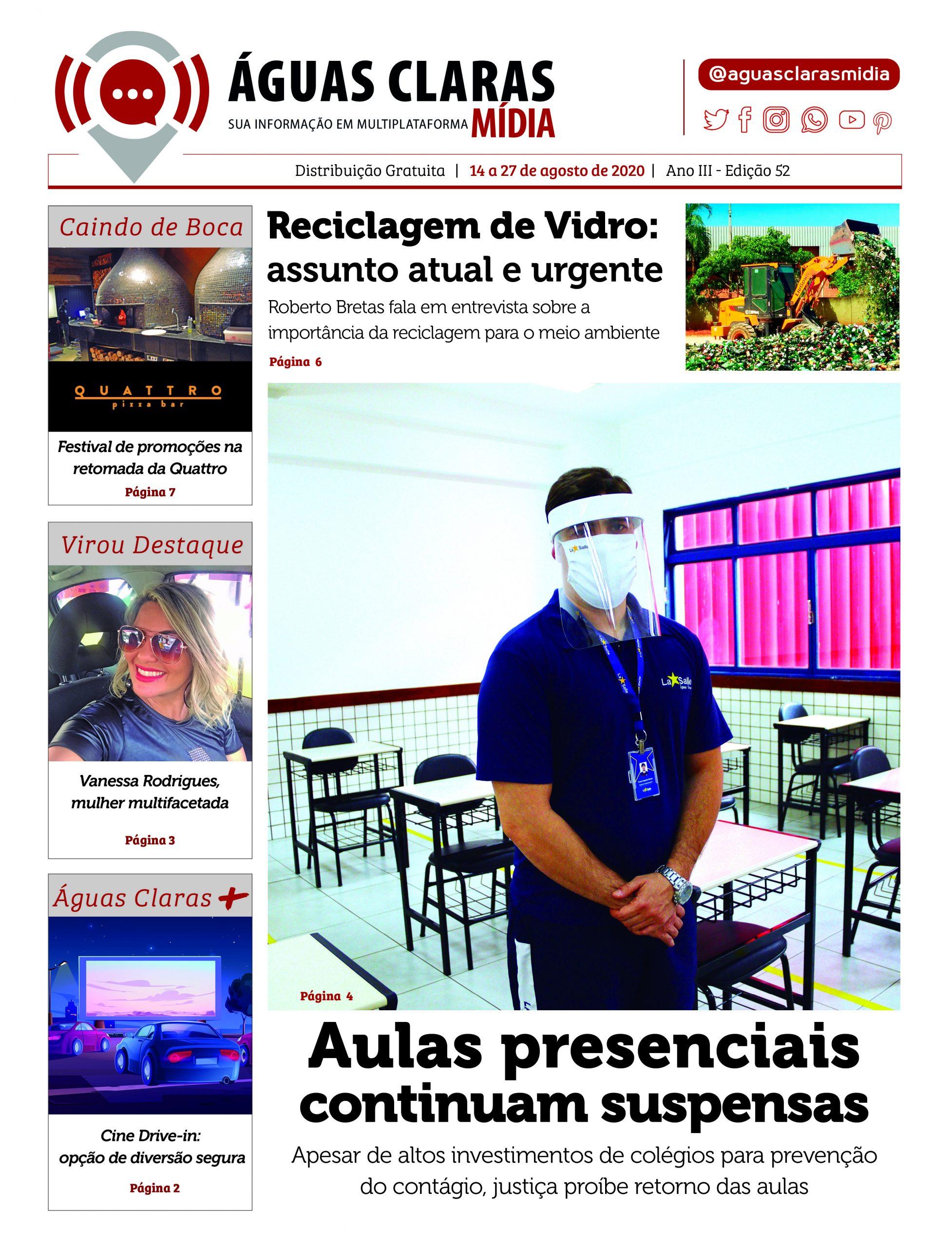 Jornal Águas Claras Mídia- Edição 52