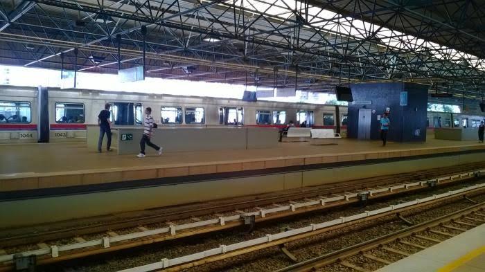Passageiro do metrô morre na estação Águas Claras após passar mal