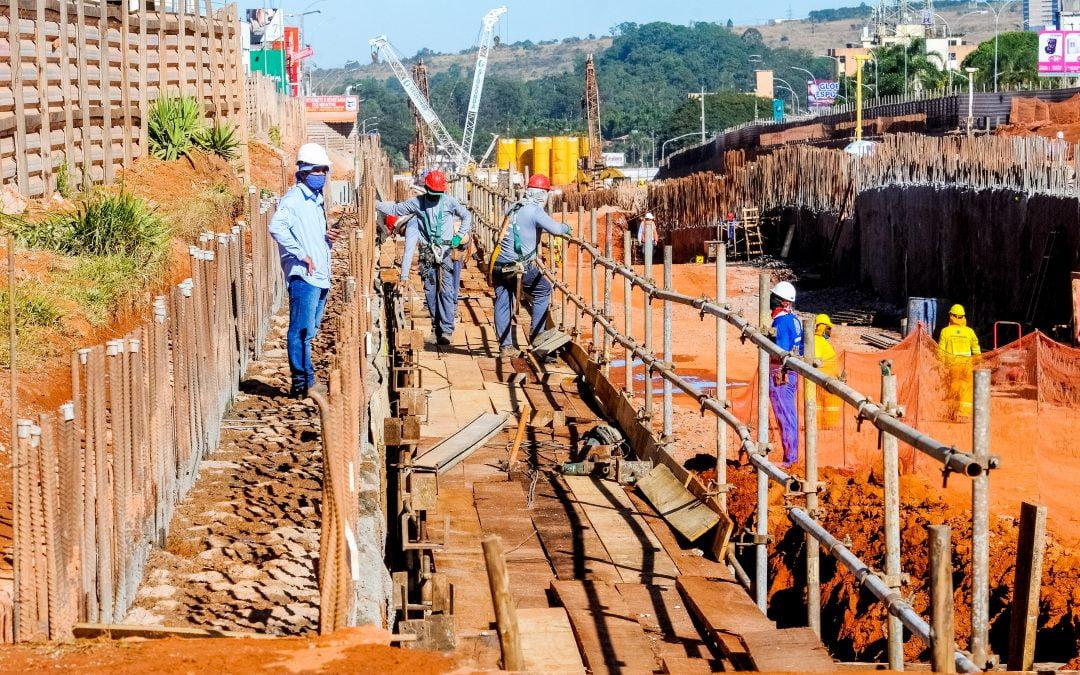 Um ano de obras do Túnel de Taguatinga
